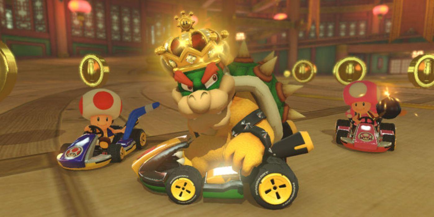 Nintendo President Doug Bowser Teaches His Parents How to Play Mario Kart