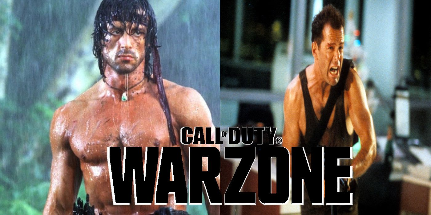 80s Action Heroes That Should Crossover with Call of Duty: Warzone Next