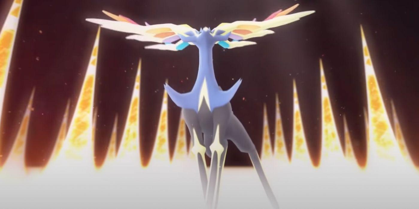 Pokemon GO Adding Xerneas, Rainy Lure Module, and More Today