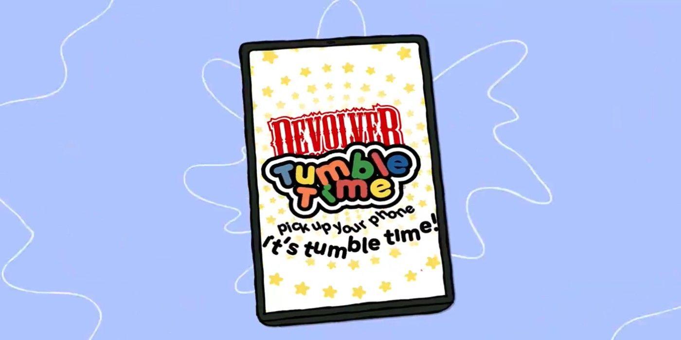 Devolver Tumble Time Puzzle Game Takes Aim at Predatory Mobile Games