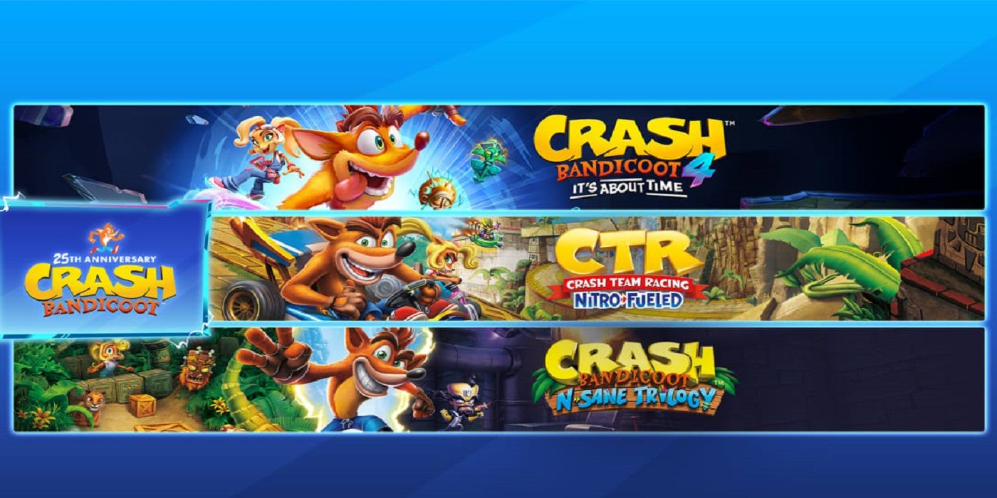 Crash Bandicoot Bundles Collect the Latest Games within the Series