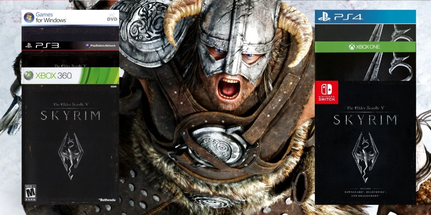 Games That Have Been Re-Released More Times Than Skyrim