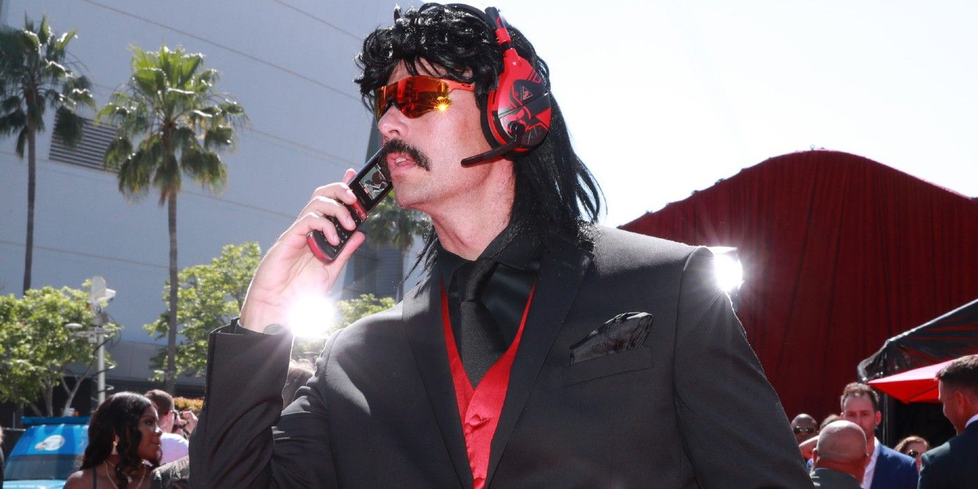 Dr Disrespect Wants to Stream on Netflix Gaming Service