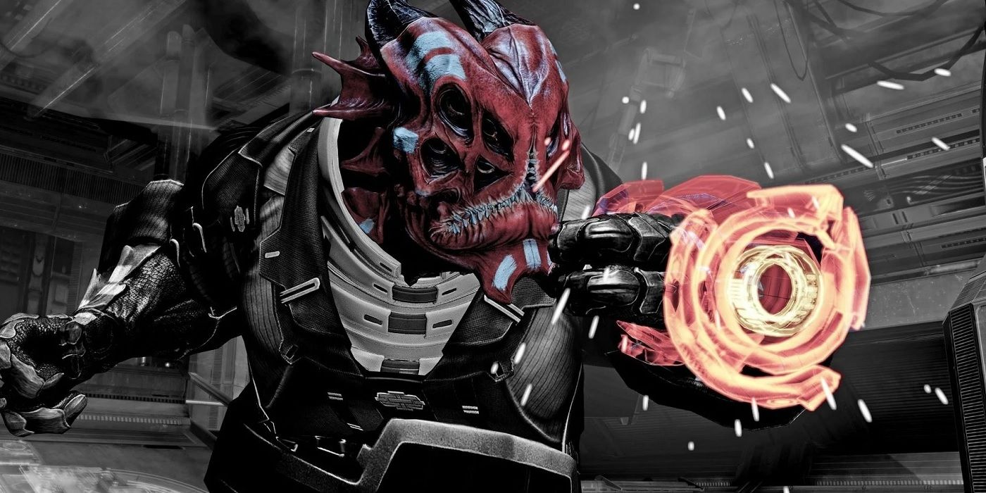 Mass Effect 3 Player Finds Unused Alien Design in Leviathan DLC