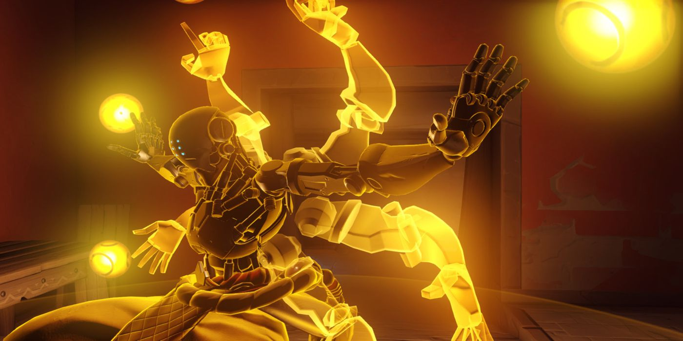 Overwatch Fan Shows Off Stunning Zenyatta Painting | Game Rant