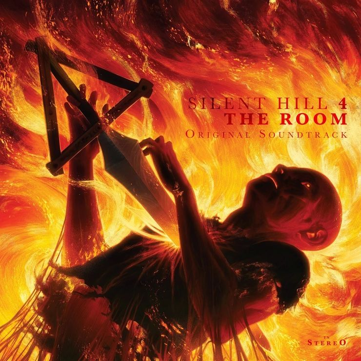 Artwork for the Silent Hill 4 Soundtrack - The Room.