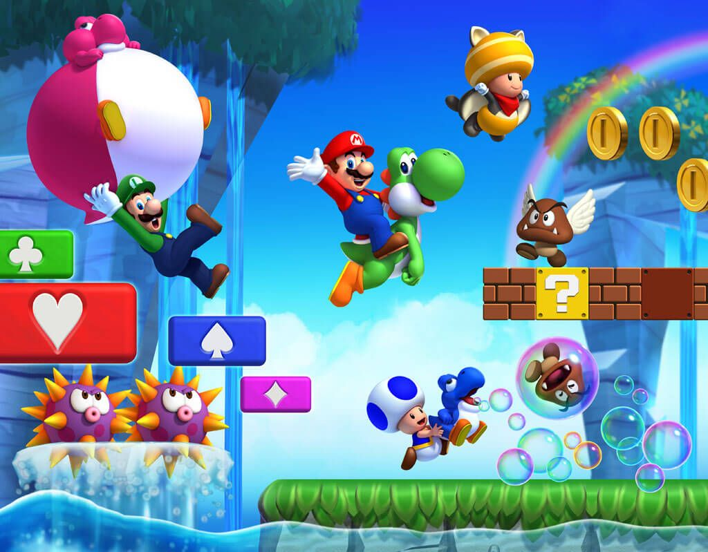 New Super Mario Bros  U' Hands-On Preview | Game Rant