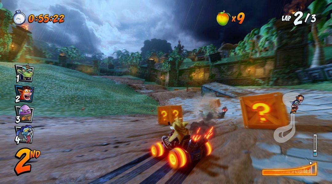 Crash Team Racing Nitro-Fueled: How to Drift, Power Slide