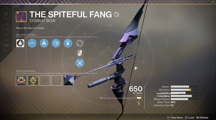Destiny 2: How to Get Curated Black Armory Weapon Rolls