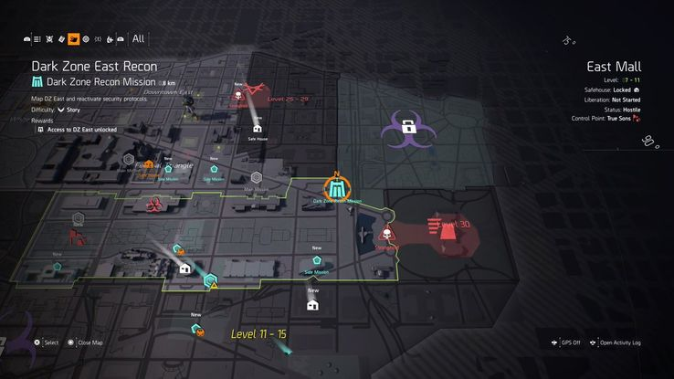 The Division 2: How to Unlock the Dark Zone | Game Rant