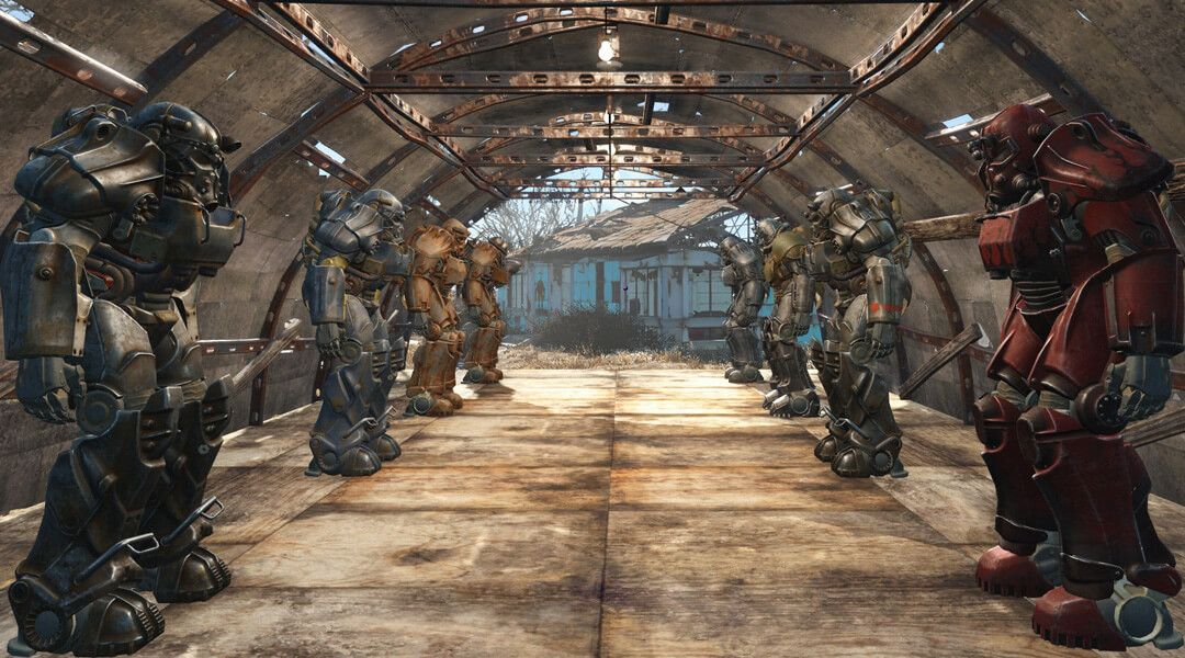 Fallout 4: Here is Every Power Armor Color Configuration