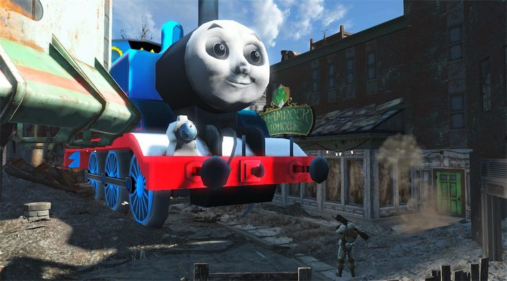 Thomas the Tank Engine Mod Got Original Creator in Legal Trouble
