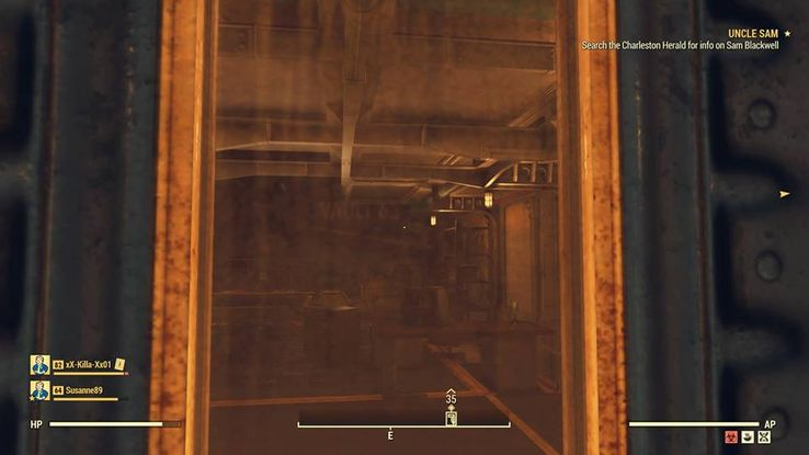 Fallout 76 Player Glitches Into Sealed Vault 63