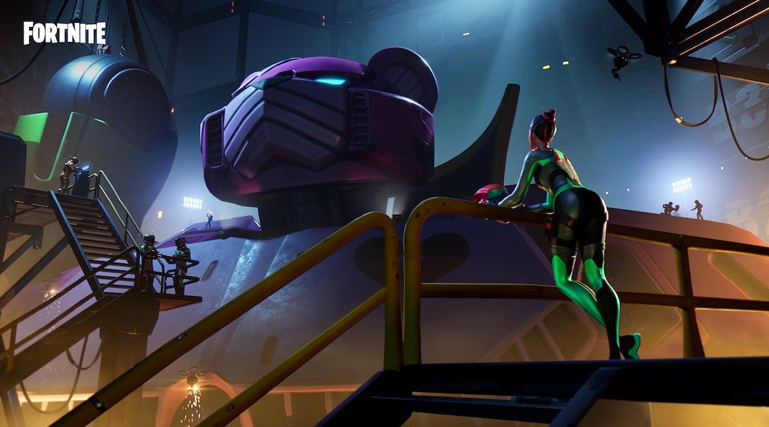 Watch the Fortnite Robot vs Monster Battle World Event