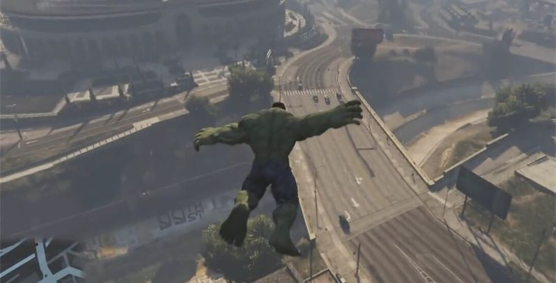 Grand Theft Auto 5 Hulk Mod Is Marvelous | Game Rant