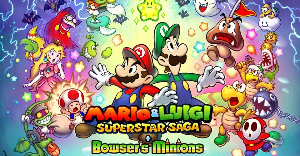 Mario And Luigi Superstar Saga Bowser S Minions Review