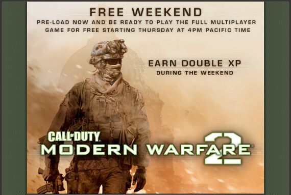 Play Modern Warfare 2 on PC for Free This Weekend! | Game Rant