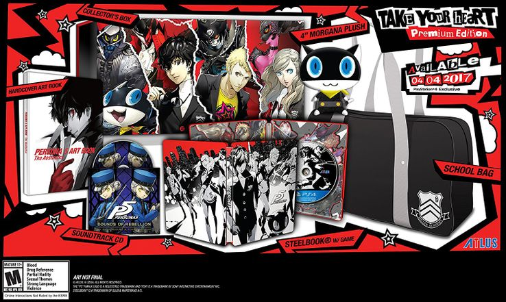 Persona 5 Amazon Orders Cancelled Due to Defect | Game Rant