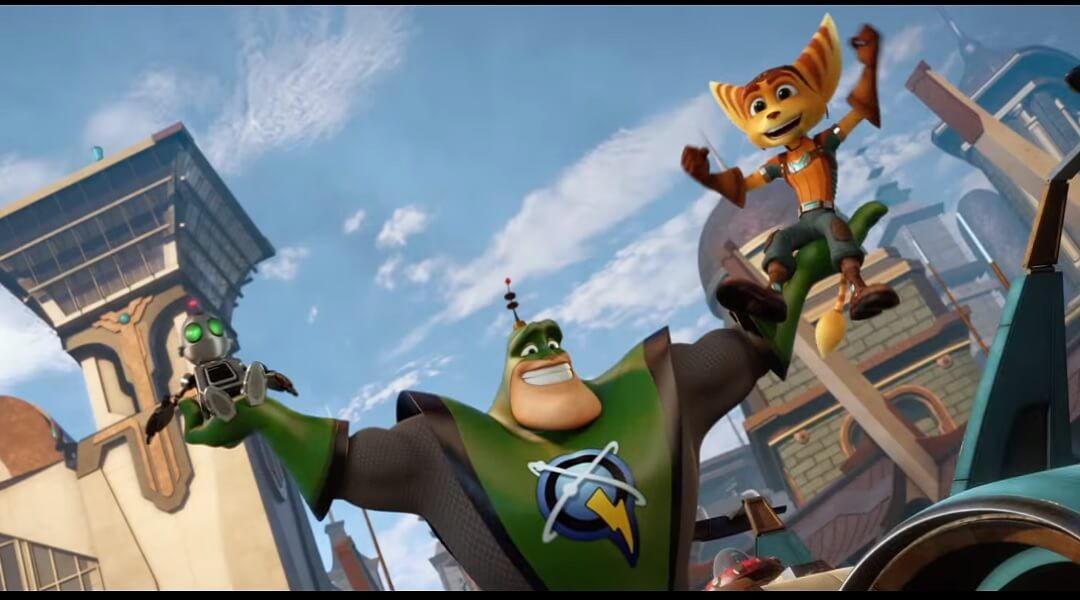 Ratchet Clank Movie Debuts First Trailer Game Rant