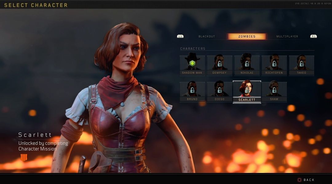 Black Ops 4 How To Unlock Scarlett In Blackout Game Rant
