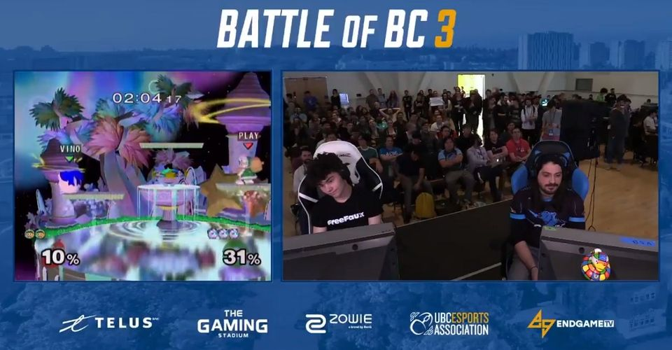 Super Smash Bros Melee Player Quits In The Middle Of Tournament Match