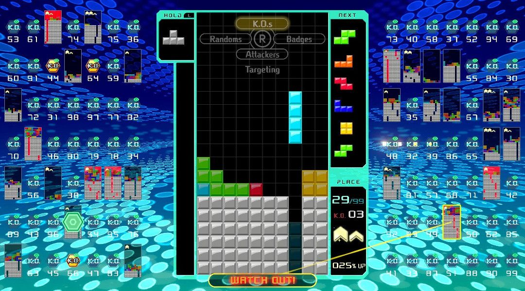 Tetris Grand Master Shows How to Win in New Tetris 99 Battle